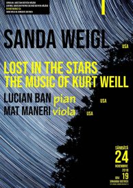 Lost in the stars – The Music of Kurt Weil – muzică jazz și cabaret