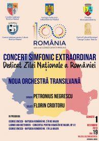 Concert simfonic extraordinar dedicat Zilei Naționale a României
