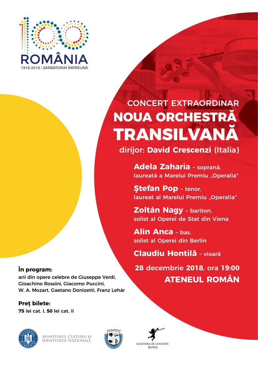 Gală extraordinară de operă la Ateneul Român
