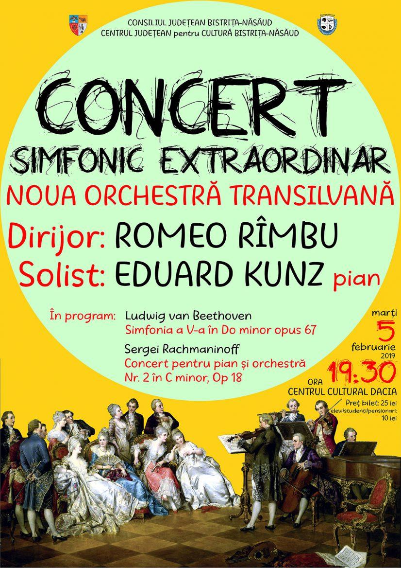Concert simfonic extraordinar: Noua Orchestră Transilvană