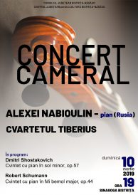 Concert cameral susținut de Cvartetul Tiberius