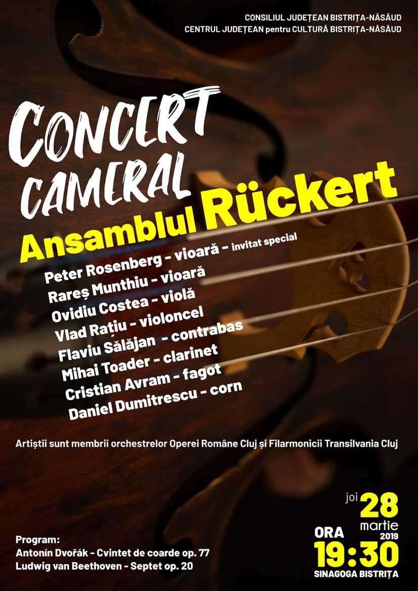 Concert Cameral: Ansamblul Rückert