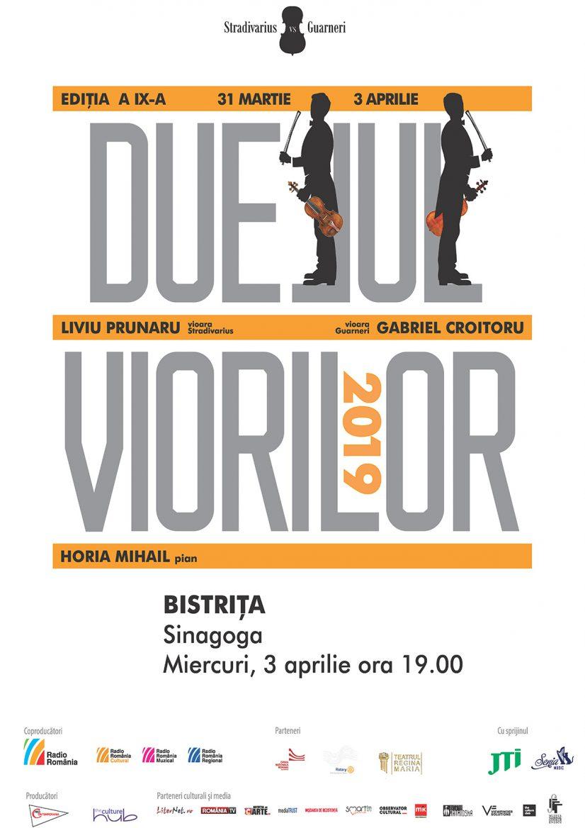 Duelul viorilor 2019: Stradivarius vs. Guarneri