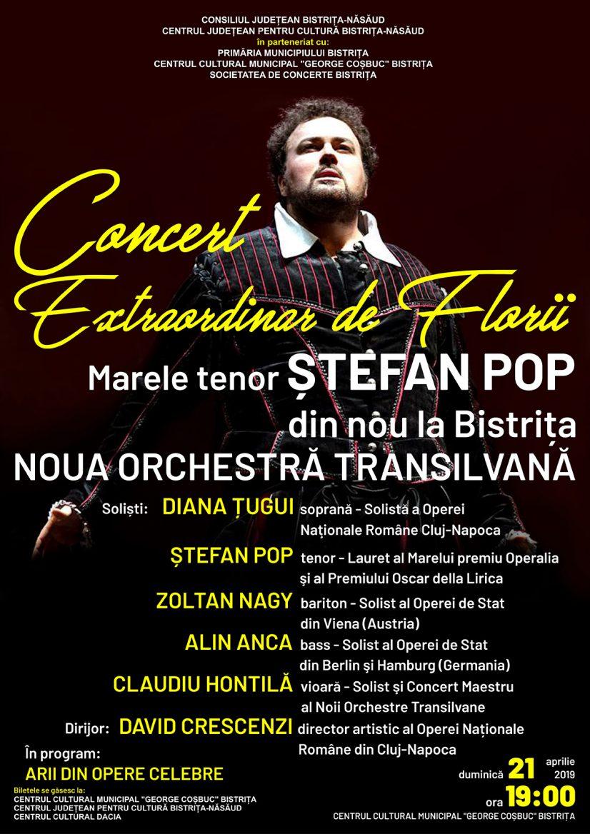 Concert extraordinar de Florii