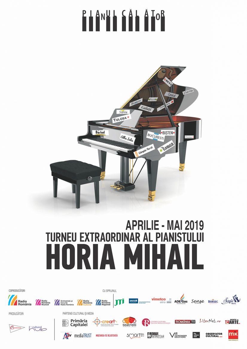 """Horia Mihail – Turneul """"Pianul Călător"""" ediţia a noua – incursiune în clasicismul vienez"""