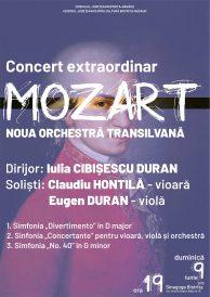 Concert Extraordinar: MOZART – Noua Orchestră Transilvană
