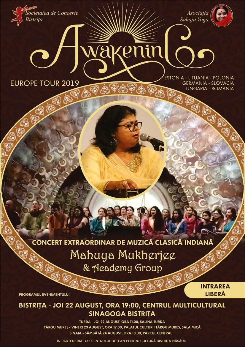 Concert extraordinar de muzică clasică indiană