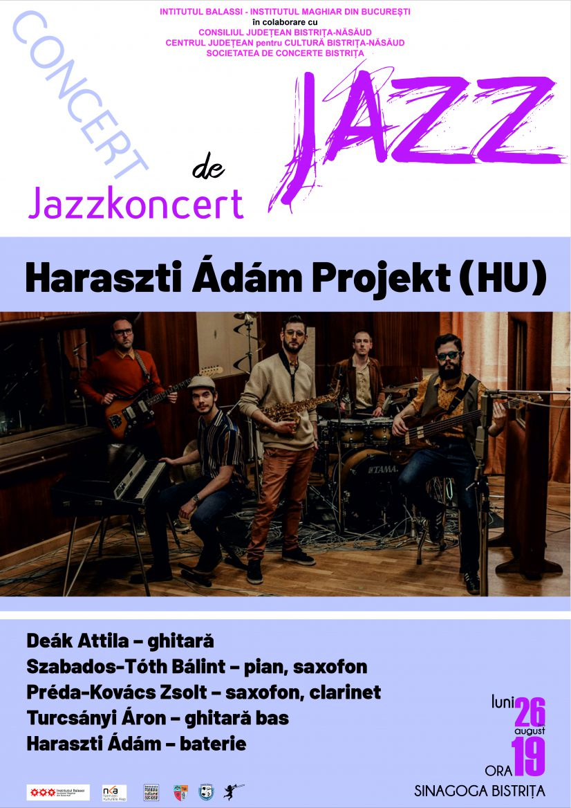 Concert de JAZZ Haraszti Ádám Projekt (HU)