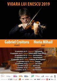 """Gabriel Croitoru şi turneul """"Vioara lui Enescu"""" 2019 – o nouă călătorie"""