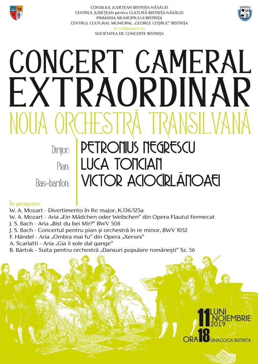 Concert cameral extraordinar