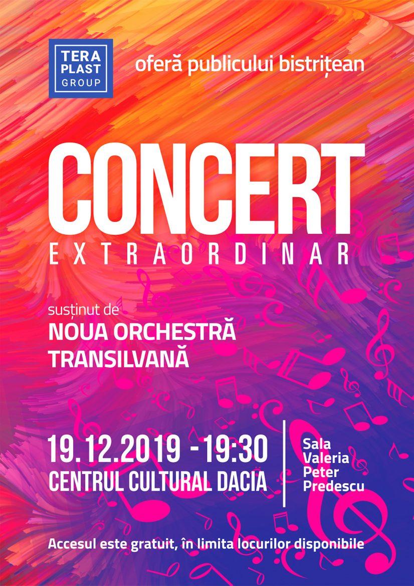 Concert extraordinar de Crăciun susținut de Noua Orchestră Transilvană