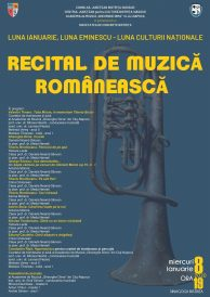 Luna Eminescu: Recital de muzică românească