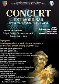 Concert extraordinar susținut de Noua Orchestră Transilvană