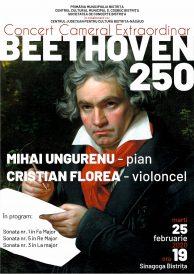 Concert cameral extraordinar Beethoven 250
