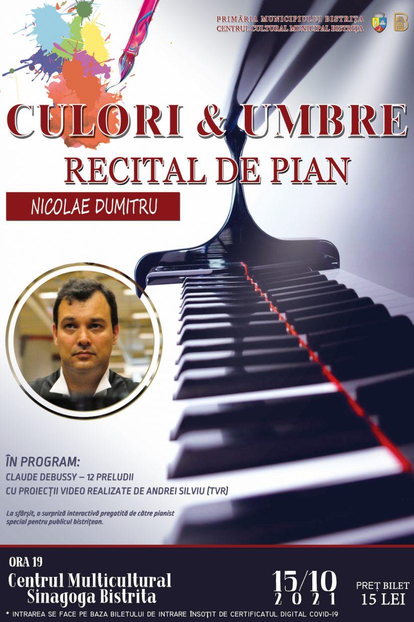 Poster recital - Culori si umbre