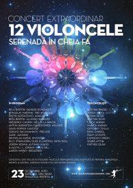 Concert extraordinar – 12 violoncele – Serenada in cheia fa