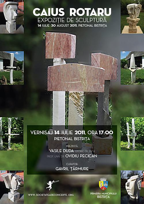 Expozitie de sculptura: Caius Rotaru si Ioan Muresan