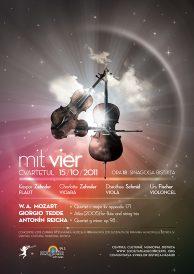 "Recital extraordinar sustinut de cvartetul ""mit vier""(Elvetia)"