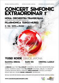 Concert simfonic extraordinar – Noua Orchestra Transilvana si Filarmonica Targu-Mures