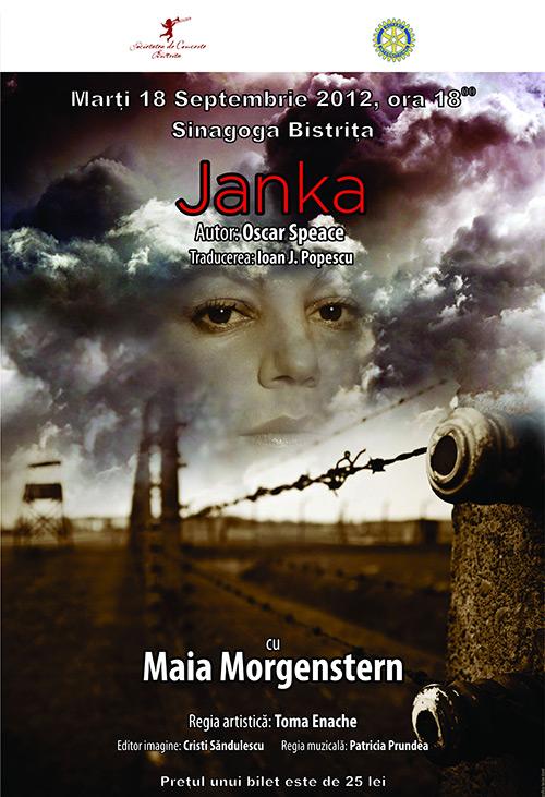 """Spectacol de teatru cu piesa """"JANKA"""""""