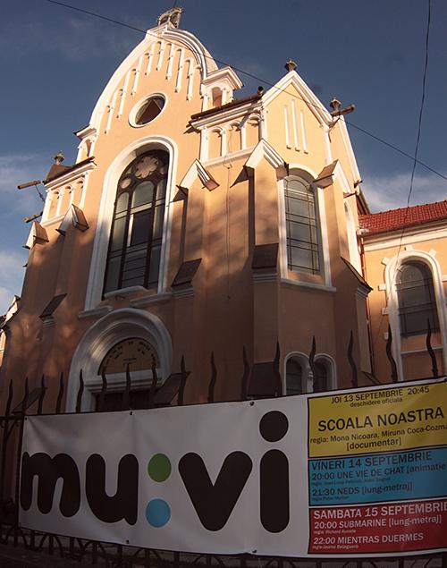Festivalul anual de film mu:vi   13-26 septembrie 2012   Centrul Multicultural Sinagoga Bistrita
