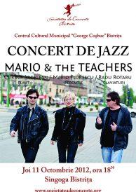 Concert de jazz: Mario & The Teachers