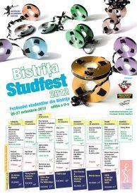 Festivalul studentilor din Bistrita: Studfest 2012, editia a II-a, 20-27 octombrie 2012