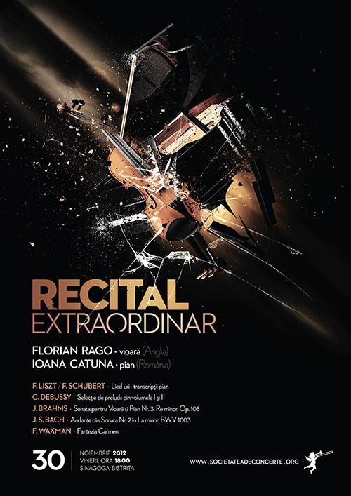 Recital extraordinar de vioara si pian