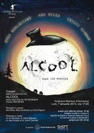 Concert pentru lansarea CD-ului Alcool in Cluj Napoca