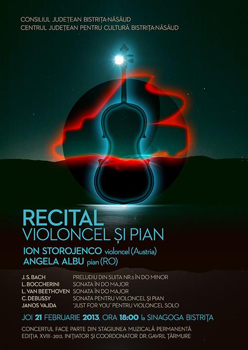 Recital de violoncel și pian
