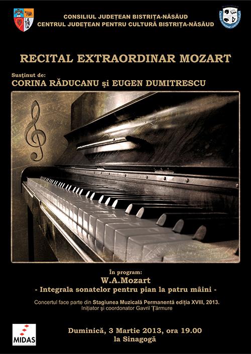 Poster recital Mozart