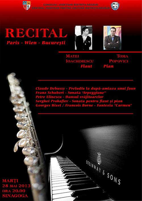Poster recital Ioachimescu