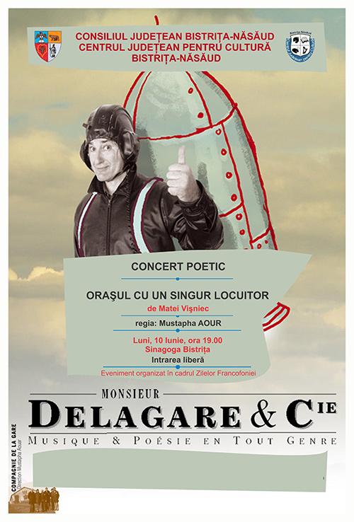 Poster concert poetic