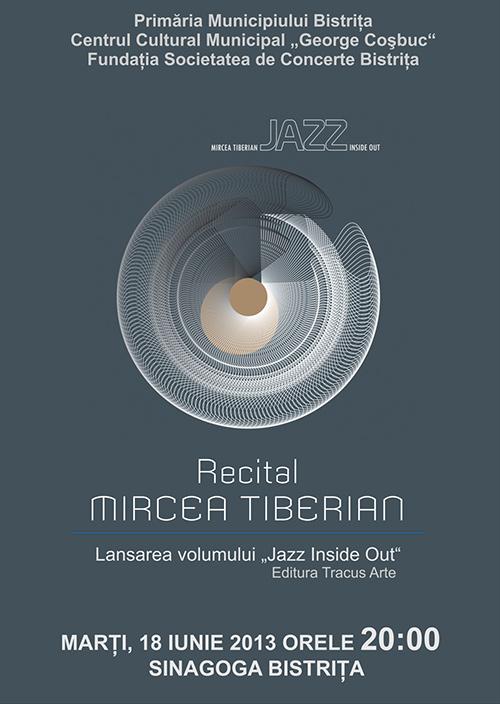 Poster recital Mircea Tiberian