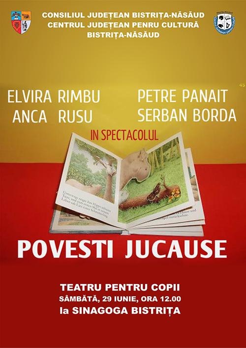 Poster Povesti jucăușe