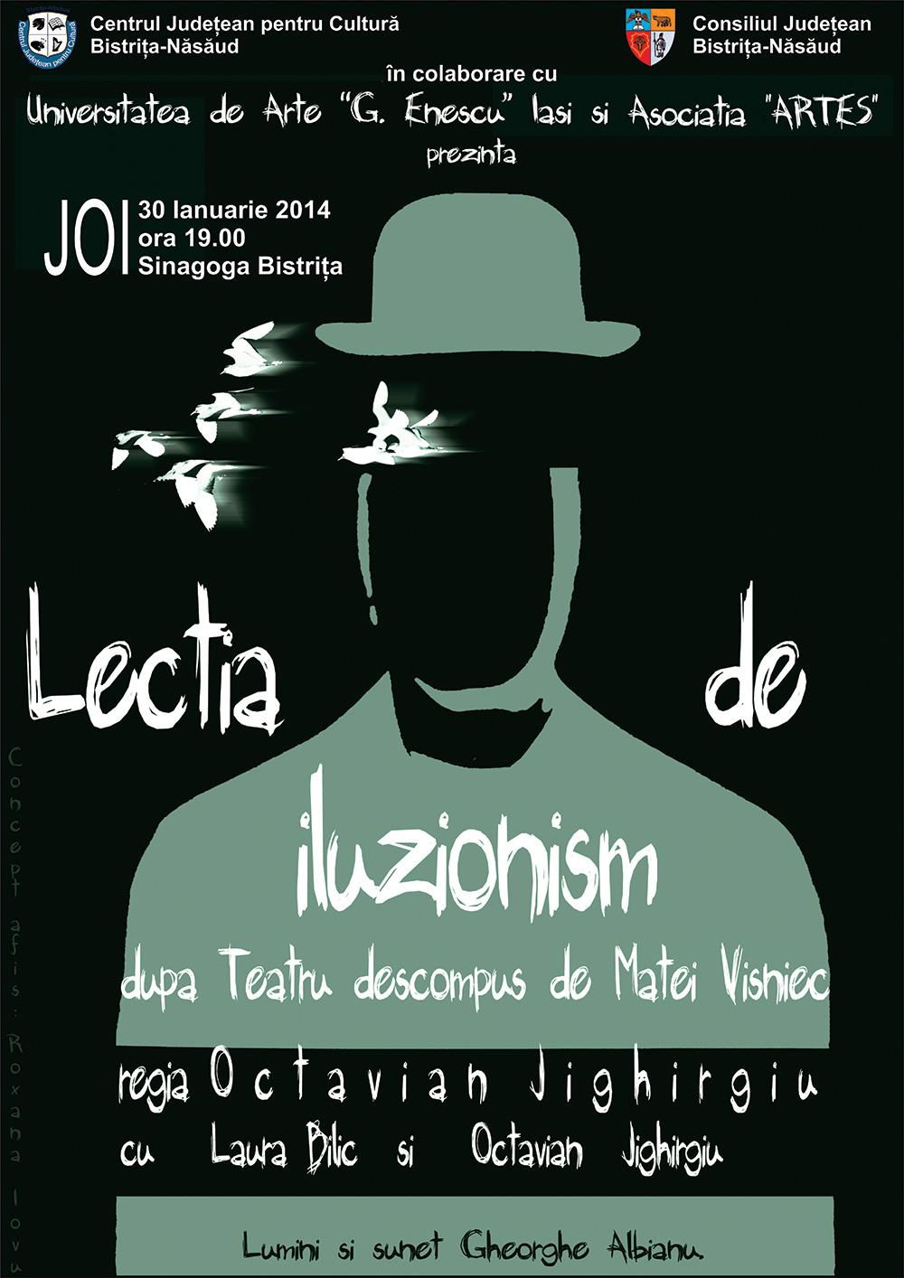 Teatru - Lectia de iluzionism