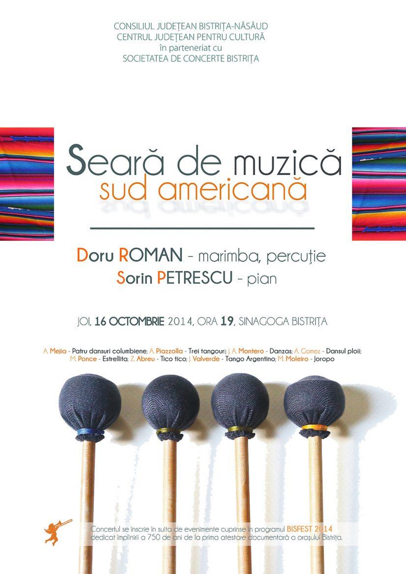Seară de muzică sud americană
