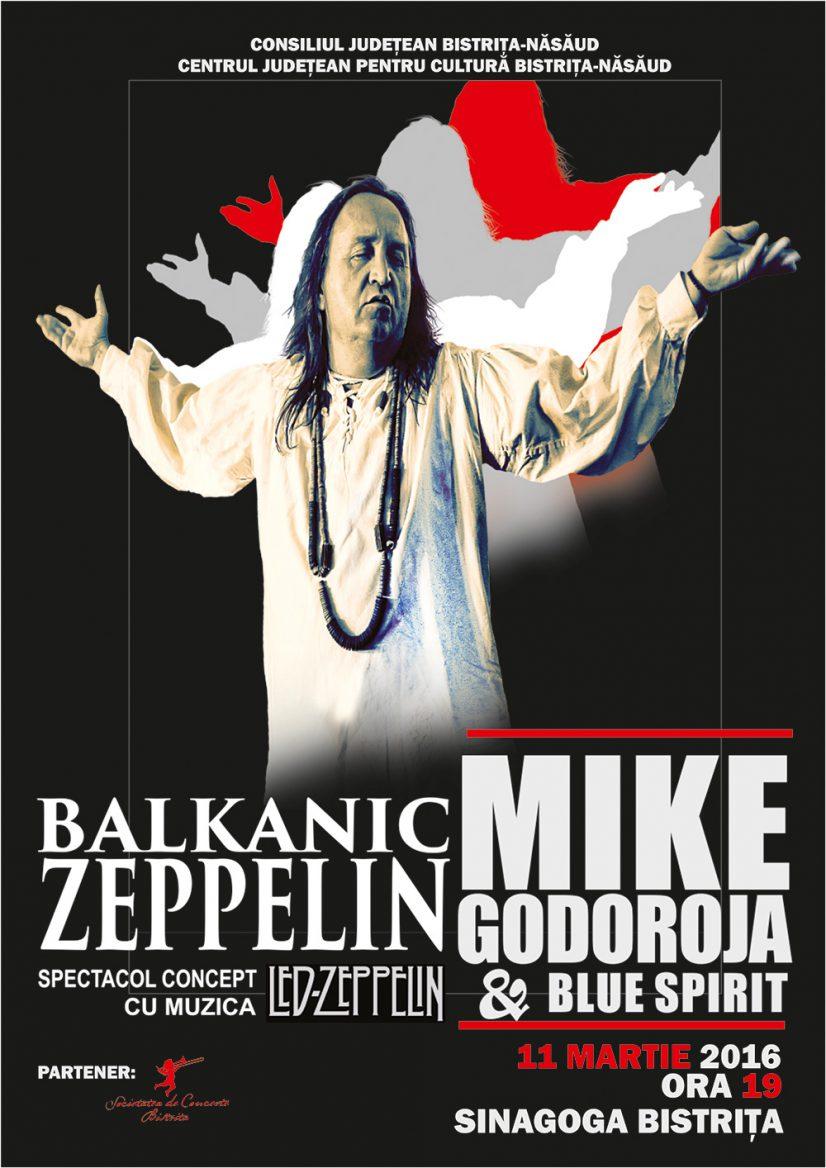 Mike Godoroja & Blue Spirit – Balkanic Zeppelin