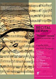 """Recital de pian Nicolae Dumitru: """"Povestiri vieneze"""""""