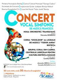 Concert vocal simfonic de muzică franceză – Corul Excelsior și Noua Orchestră Transilvană