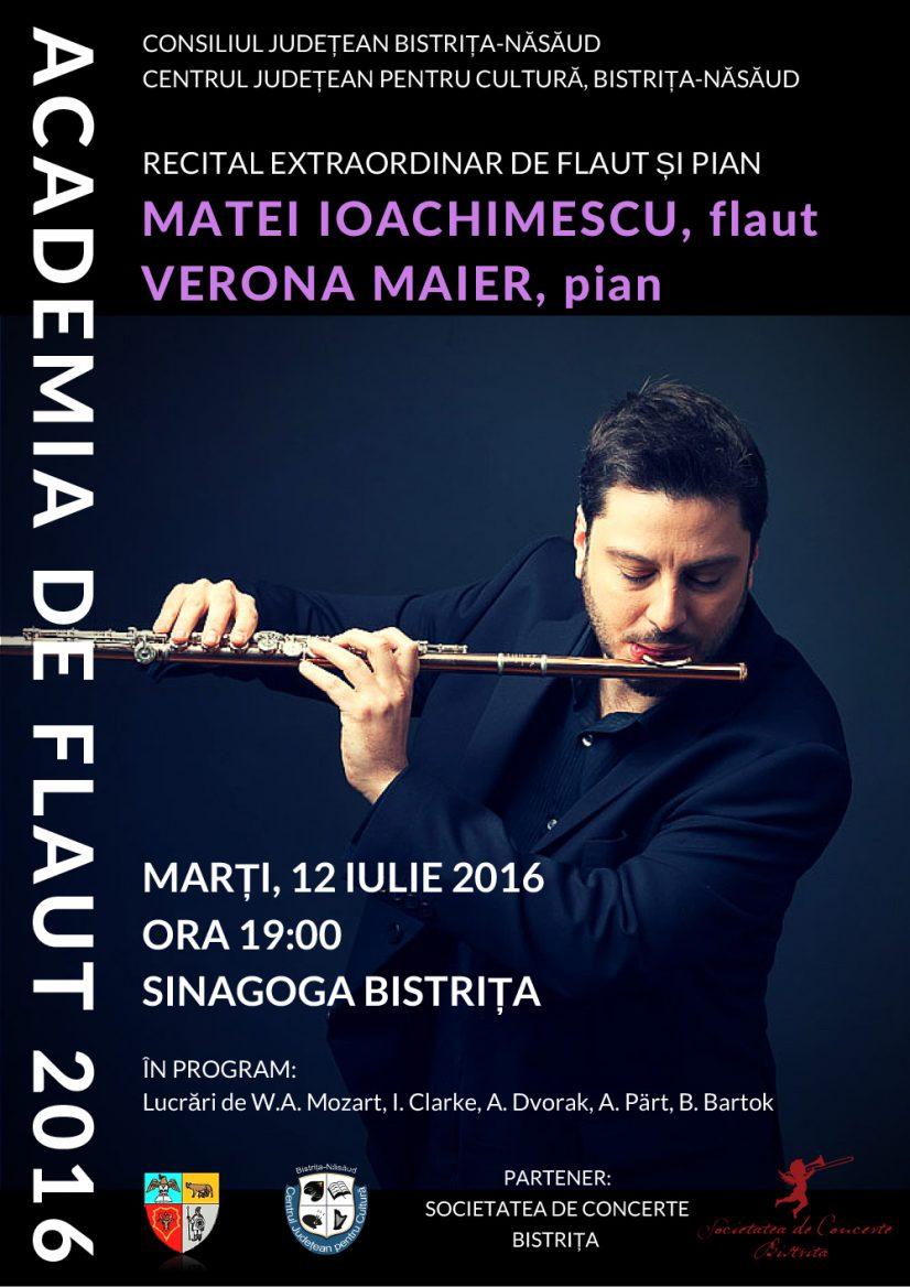 Recital extraordinar de flaut și pian