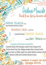 Întâlnire muzicală – Recital de arii, duete și canzonette celebre
