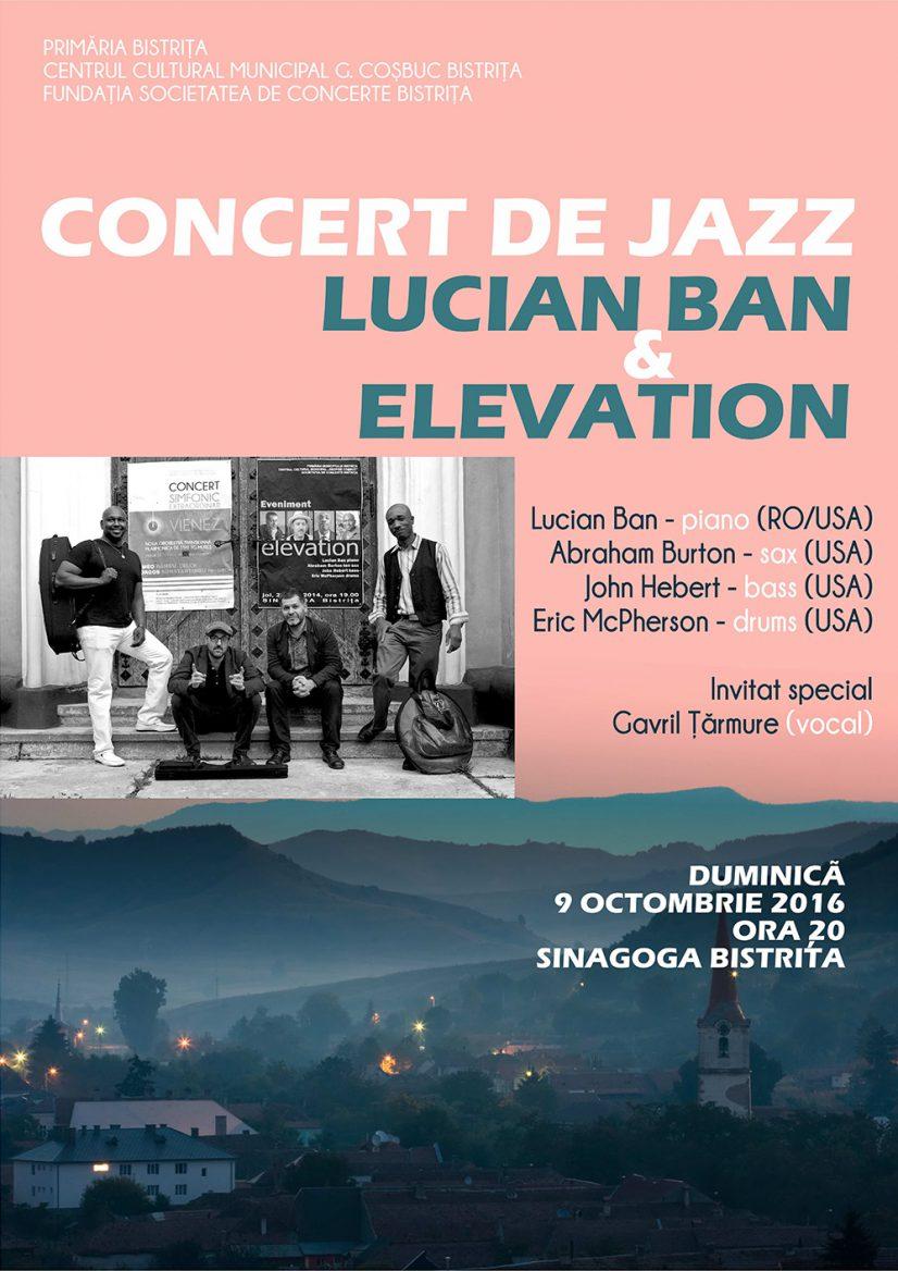 Concert de jazz – Lucian Ban & Elevation