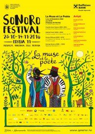 Sonoro Festival Ediția 11 ajunge la Bistrița – La Muse et le Poete