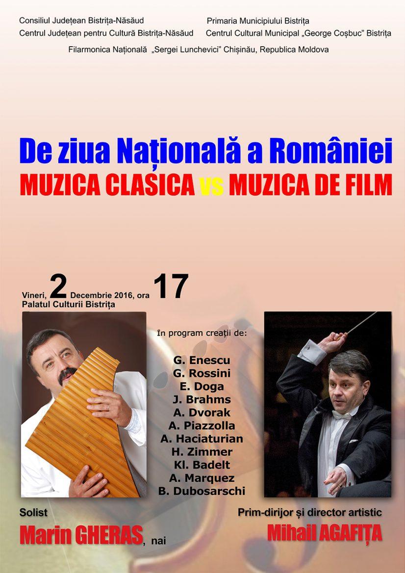 Concert extraordinar de Ziua Națională a României