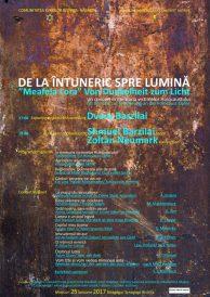"""Concert în memoria victimelor Holocaustului – """"DE LA ÎNTUNERIC SPRE LUMINĂ"""" – """"Meafela Lora"""""""