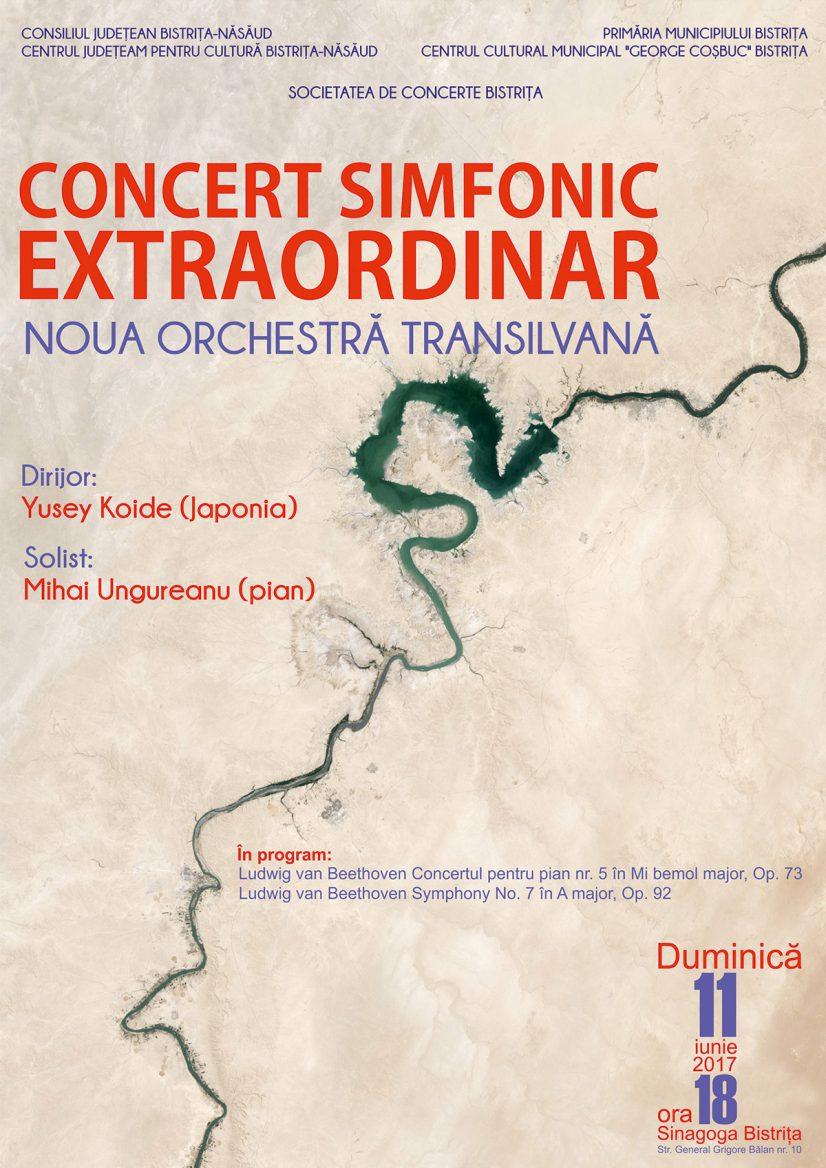 Concert simfonic extraordinar Noua Orchestră Transilvană dirijată de Yusey Koide (Japonia)