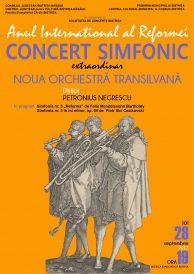 Concert simfonic extraordinar susținut de Noua Orchestră Transilvană
