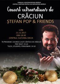 Concert extraordinar de Crăciun susținut de Ștefan Pop & Friends