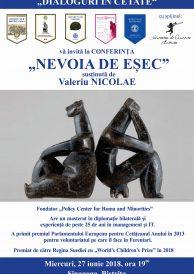 """Conferința """"Nevoia de eșec"""" susținută de Valeriu Nicolae"""